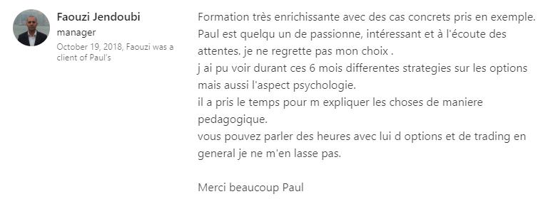 Témoignage Faouzi